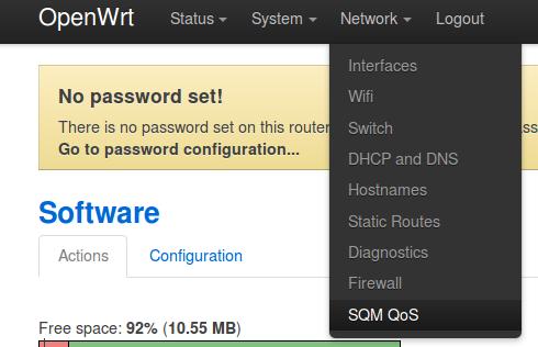 Network-sqm